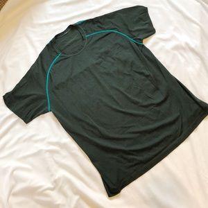 Men's Lululemon Green Short Sleeve Tee XXL